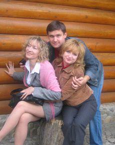 я с одногруппниками:-)))(сентябрь, 2007)