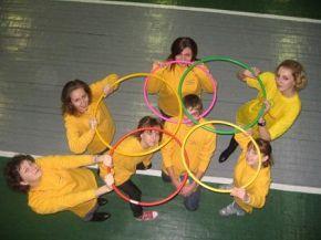 волонтерське коло об'єднується)))))