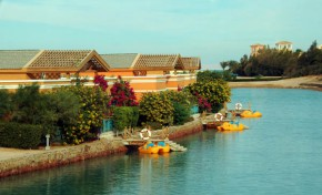 """красивейший """"город в городе"""", район Хургады  - Эль Гуна (Египетская Венеция) - я в него влюбилась)"""
