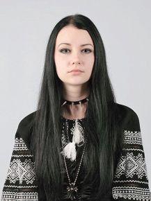 Ethno-gothic. Фото для журналістського посвідчення.