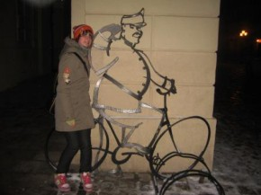 а я ось знайшла собі там друга)))