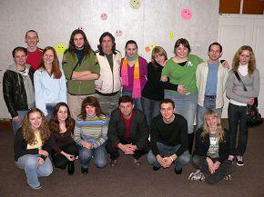 в церкви Вифлием Минск, Беларусь 09/02/2008