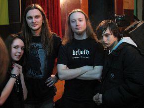 с фанатами)  Holy Blood в Ровно 15\03\2008