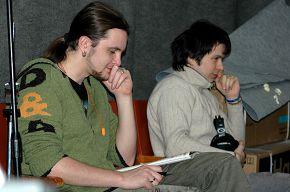 на записи нашего нового альбома 17\03\2008