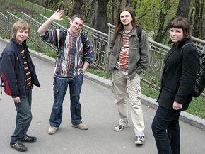 выгуливаю сябров беларусов) 12/04/2008