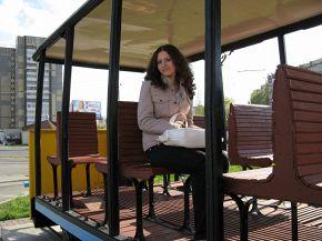 Местный трамвайчик :)