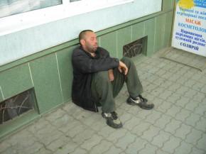 Мукачевский бомж