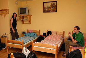 в гостинице Дембица, Польша 18/06/2008