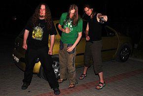 вечером возле гостиницы Дембица, Польша 18/06/2008