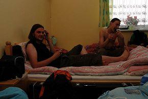 в гостинице Дембица, Польша 19/06/2008
