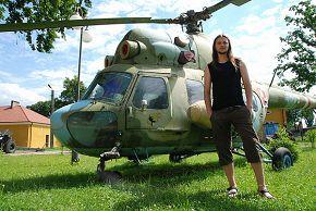 возле музея города Дембица, Польша 19/06/2008