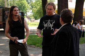трем с директором музея) Дембица, Польша 19/06/2008