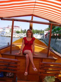 Гондола - хорошее название для лодки :)))))