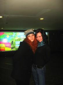 с Кристяй))))))