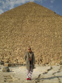 Пирамиды) уже во второй раз там побывала)