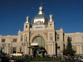 Львівський вокзал. Подорож починається :)