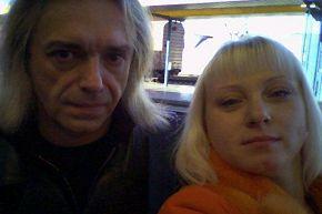 Я с К.Кинчевым...Симферополь ноябрь 2005