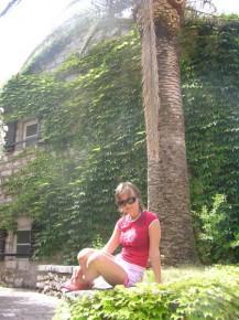 пальма большая, я маленькая:-)