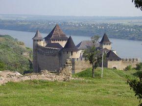 Вид на Хотинскую крепость