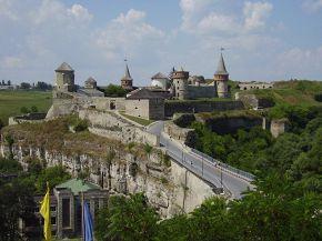 Каменец-Подольский, вид на старую крепось