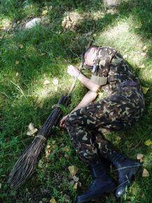 солдат спит - служба идет