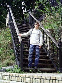 Андреевский спуск, Киев, 21 сентября 2006г