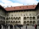 Двор замка Вавель