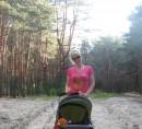 Прятались от жары в лесу