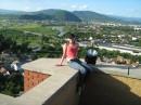 Вид на Мукачево с замка Паланка