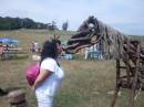 Конь!