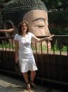 Гігантський Будда. Висота ока  3 м.