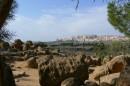 Долина Храмов вид на Agrigento