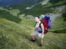 кохана жінка на фоні Гаджинських озерець