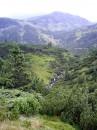 Гаджинський водоспад знизу
