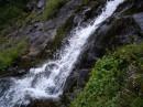 Гаджинський водоспад зблизька -  ох і намок,що б зробити цю знимочку