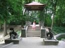 китайский мостик в Олександрийском парке