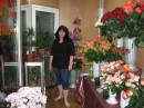 Я в цветочном магазине