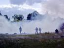 реконструкція бою між УПА і Червоною Армією