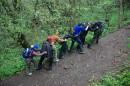 Восползание на гору Мангуп