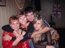 Это наша банда, правда Ромика не хватает, но он есть-за кадром(фоткает нас) Таня(шшшшш), я, Кузик, Ясик и Ромочка (с другой стороны экрана)