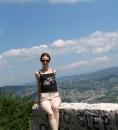 Черногория.Самая высокая точка серпантина.