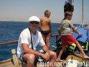 На яхте...в открытом море:)