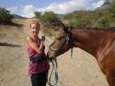 А коня зовут Гашиш:) Вот так:)