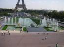город Париж, площадь Трокадеро