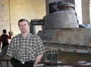 я возле танка времён I-й мировой войны :)