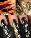 акрил + роспись ногтей