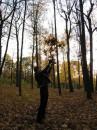 """""""Осень - мертвые дожди Осень - юные морозы Задубевшие березы Ковыляют по Руси Осень - падшая листва Оплевавшая дорогу Осень - смертная трево"""
