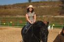 я на лошадке в Horse club....