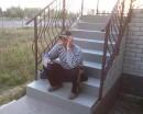 Надо пощупать-правильно ли сделана высота ступеньки.Лестница на второй этаж и террассу Джильолы(так пансионатик называют хозяева)