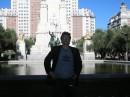 Королевская площадь Мадрида, сентябрь 2006